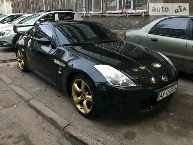 Черный Ниссан 350З, объемом двигателя 3.5 л и пробегом 113 тыс. км за 15400 $, фото 1 на Automoto.ua