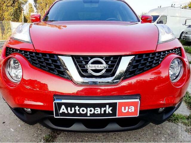 Красный Ниссан Жук, объемом двигателя 1.6 л и пробегом 85 тыс. км за 13690 $, фото 1 на Automoto.ua