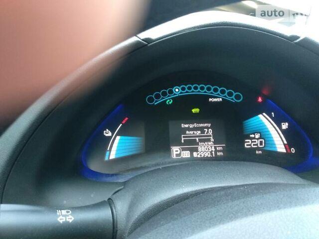 Серый Ниссан Лиф, объемом двигателя 0 л и пробегом 88 тыс. км за 14300 $, фото 1 на Automoto.ua