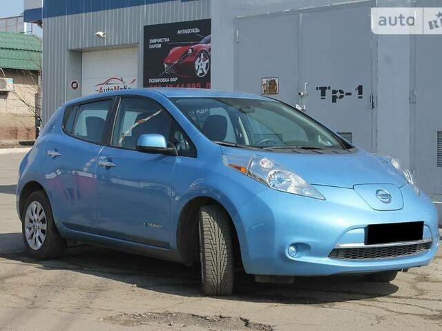 Синій Ніссан Ліф, об'ємом двигуна 0 л та пробігом 43 тис. км за 14999 $, фото 1 на Automoto.ua