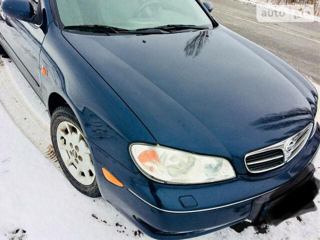 Синій Ніссан Максіма, об'ємом двигуна 2 л та пробігом 295 тис. км за 5150 $, фото 1 на Automoto.ua