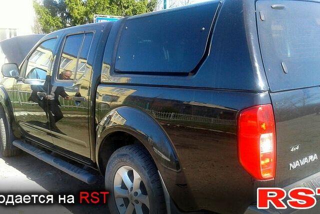 Чорний Ніссан Навара, об'ємом двигуна 2.5 л та пробігом 23 тис. км за 26000 $, фото 1 на Automoto.ua
