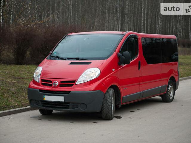 Червоний Ніссан Прімастар пас., об'ємом двигуна 2 л та пробігом 208 тис. км за 10700 $, фото 1 на Automoto.ua