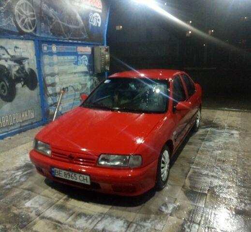 Красный Ниссан Примера, объемом двигателя 1.6 л и пробегом 1 тыс. км за 2550 $, фото 1 на Automoto.ua