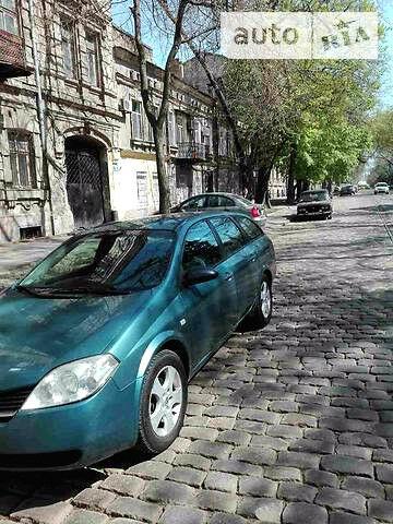 Синий Ниссан Примера, объемом двигателя 2.2 л и пробегом 198 тыс. км за 2500 $, фото 1 на Automoto.ua