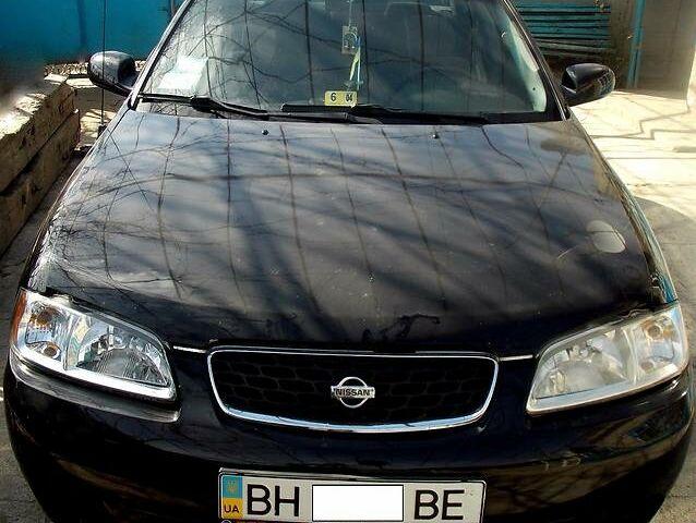 Черный Ниссан Сентра, объемом двигателя 1.8 л и пробегом 220 тыс. км за 6300 $, фото 1 на Automoto.ua