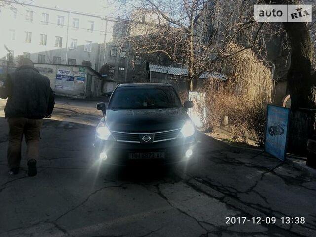 Чорний Ніссан Тііда, об'ємом двигуна 1.6 л та пробігом 134 тис. км за 7200 $, фото 1 на Automoto.ua