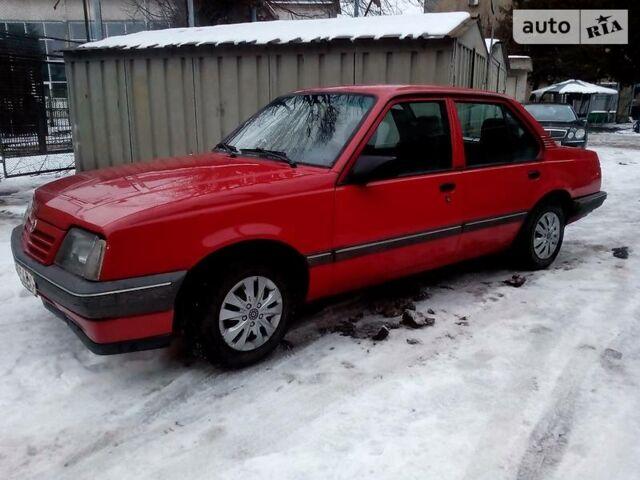 Червоний Опель Аскона, об'ємом двигуна 1.6 л та пробігом 140 тис. км за 1500 $, фото 1 на Automoto.ua