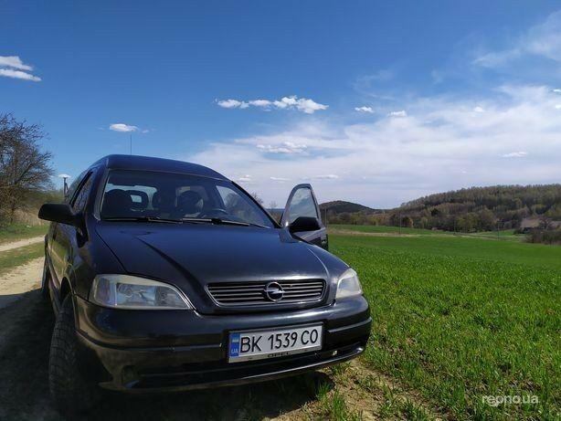 Черный Опель Астра Г, объемом двигателя 1.7 л и пробегом 449 тыс. км за 2900 $, фото 1 на Automoto.ua