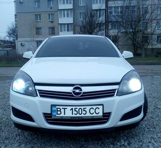 Белый Опель Астра, объемом двигателя 1.7 л и пробегом 256 тыс. км за 6400 $, фото 1 на Automoto.ua