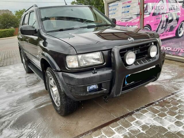 Черный Опель Фронтера, объемом двигателя 2.2 л и пробегом 222 тыс. км за 7000 $, фото 1 на Automoto.ua