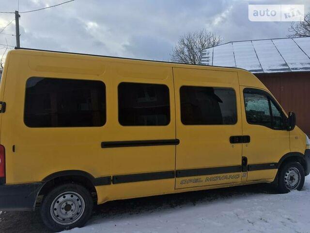 Оранжевый Опель Мовано пасс., объемом двигателя 3 л и пробегом 340 тыс. км за 10200 $, фото 1 на Automoto.ua
