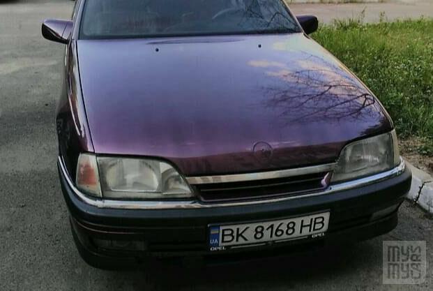 Фиолетовый Опель Омега, объемом двигателя 2 л и пробегом 230 тыс. км за 2150 $, фото 1 на Automoto.ua