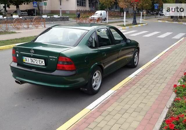 Зелений Опель Вектра Б, об'ємом двигуна 2.5 л та пробігом 285 тис. км за 4800 $, фото 1 на Automoto.ua