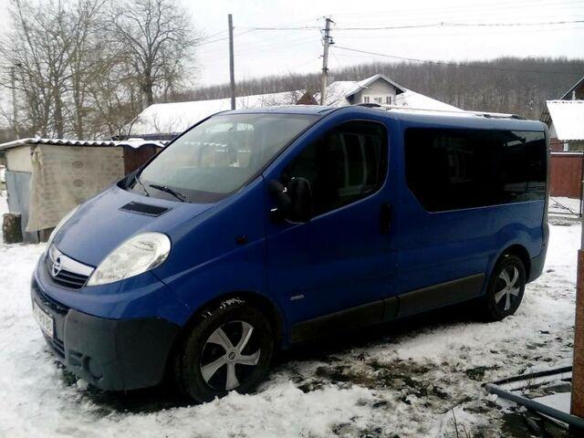 Синій Опель Віваро пас., об'ємом двигуна 2 л та пробігом 166 тис. км за 8600 $, фото 1 на Automoto.ua