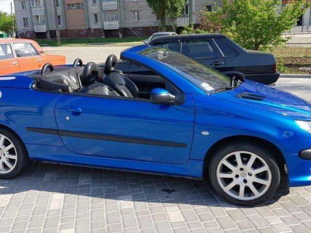 Синий Пежо 206, объемом двигателя 2 л и пробегом 170 тыс. км за 2800 $, фото 1 на Automoto.ua