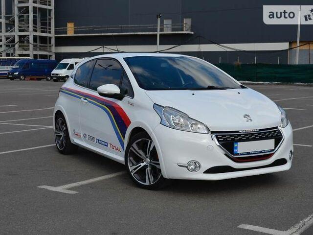 Білий Пежо 208 ГТІ, об'ємом двигуна 1.6 л та пробігом 47 тис. км за 13900 $, фото 1 на Automoto.ua