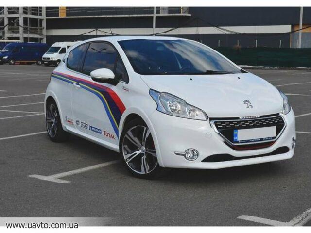 Білий Пежо 208 ГТІ, об'ємом двигуна 1.6 л та пробігом 47 тис. км за 15084 $, фото 1 на Automoto.ua