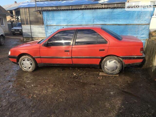 Червоний Пежо 405, об'ємом двигуна 1.5 л та пробігом 233 тис. км за 1800 $, фото 1 на Automoto.ua