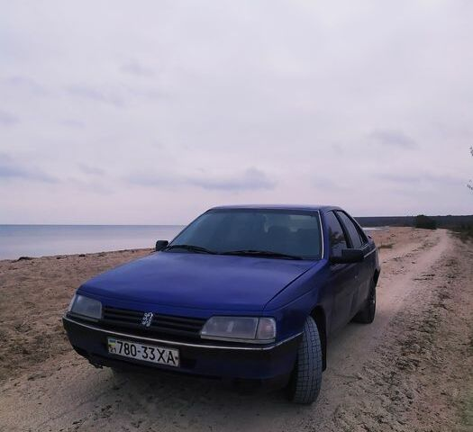 Синій Пежо 405, об'ємом двигуна 1.9 л та пробігом 200 тис. км за 1700 $, фото 1 на Automoto.ua