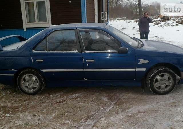 Синій Пежо 405, об'ємом двигуна 1.9 л та пробігом 210 тис. км за 2200 $, фото 1 на Automoto.ua