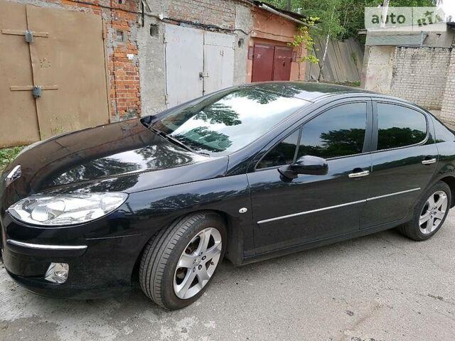 Черный Пежо 407, объемом двигателя 1.8 л и пробегом 170 тыс. км за 8500 $, фото 1 на Automoto.ua