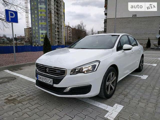 Белый Пежо 508, объемом двигателя 1.6 л и пробегом 157 тыс. км за 11700 $, фото 1 на Automoto.ua