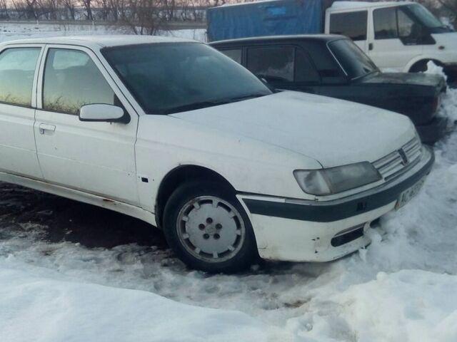 Білий Пежо 605, об'ємом двигуна 2 л та пробігом 590 тис. км за 1200 $, фото 1 на Automoto.ua