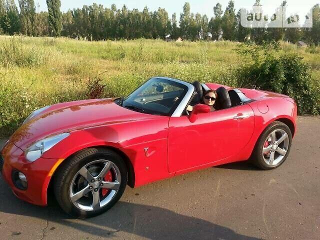 Червоний Понтіак Solstice, об'ємом двигуна 2 л та пробігом 43 тис. км за 23000 $, фото 1 на Automoto.ua