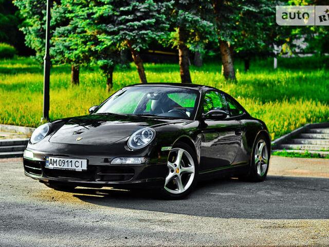 Черный Порше 911, объемом двигателя 3.6 л и пробегом 117 тыс. км за 38000 $, фото 1 на Automoto.ua