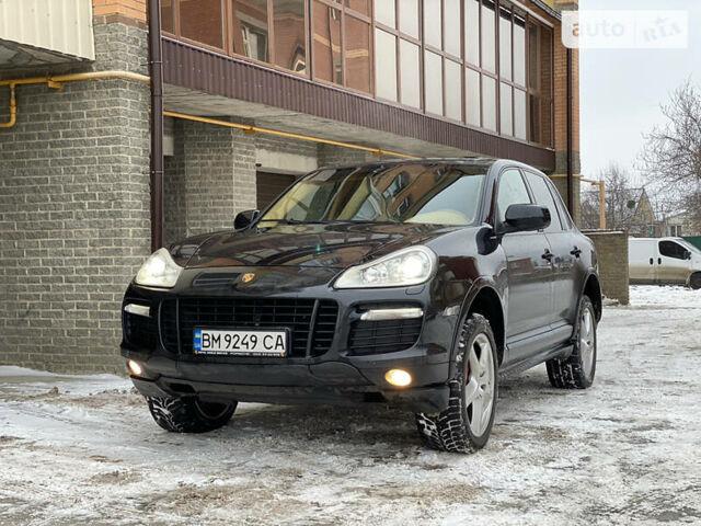 Черный Порше Каен, объемом двигателя 4.8 л и пробегом 150 тыс. км за 16000 $, фото 1 на Automoto.ua