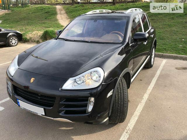 Чорний Порше Cayenne, об'ємом двигуна 3.6 л та пробігом 131 тис. км за 18300 $, фото 1 на Automoto.ua