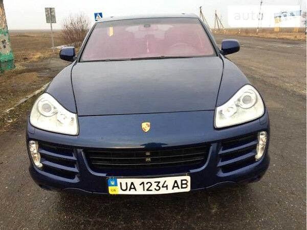 Синій Порше Cayenne, об'ємом двигуна 3.6 л та пробігом 135 тис. км за 24500 $, фото 1 на Automoto.ua