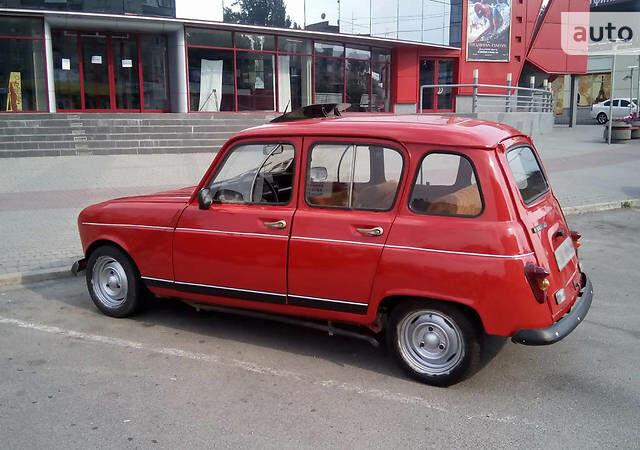 Червоний Рено 4, об'ємом двигуна 1.1 л та пробігом 196 тис. км за 3000 $, фото 1 на Automoto.ua