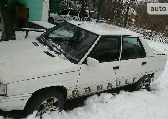 Белый Рено 9, объемом двигателя 1.4 л и пробегом 12 тыс. км за 550 $, фото 1 на Automoto.ua