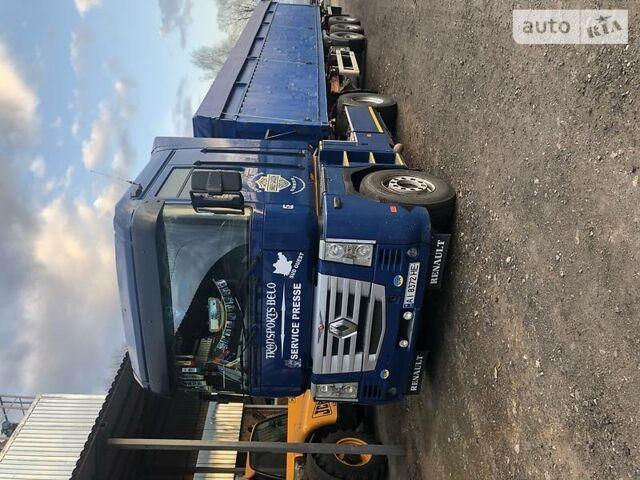 Синий Рено Магнум, объемом двигателя 0 л и пробегом 600 тыс. км за 9500 $, фото 1 на Automoto.ua