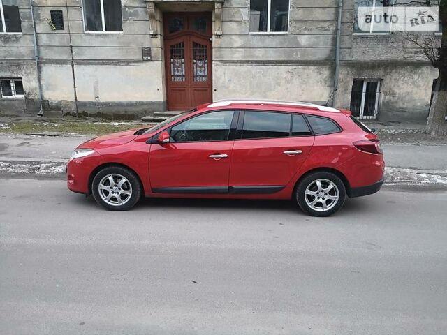 Красный Рено Меган, объемом двигателя 1.5 л и пробегом 213 тыс. км за 7350 $, фото 1 на Automoto.ua
