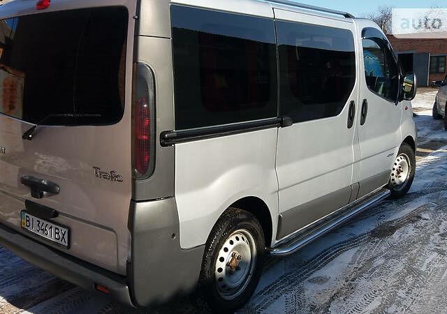 Срібний Рено Трафік пас., об'ємом двигуна 1.9 л та пробігом 278 тис. км за 9800 $, фото 1 на Automoto.ua