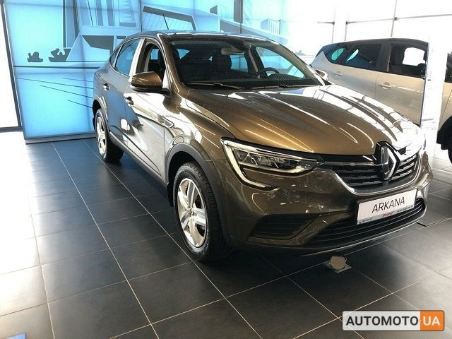 купить новое авто Рено Arkana 2021 года от официального дилера Полісся Моторс Груп Рено фото