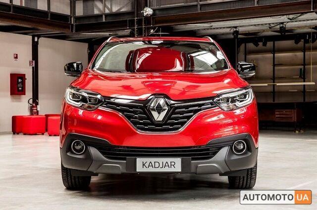 купить новое авто Рено Kadjar 2020 года от официального дилера Полісся Моторс Груп Рено фото