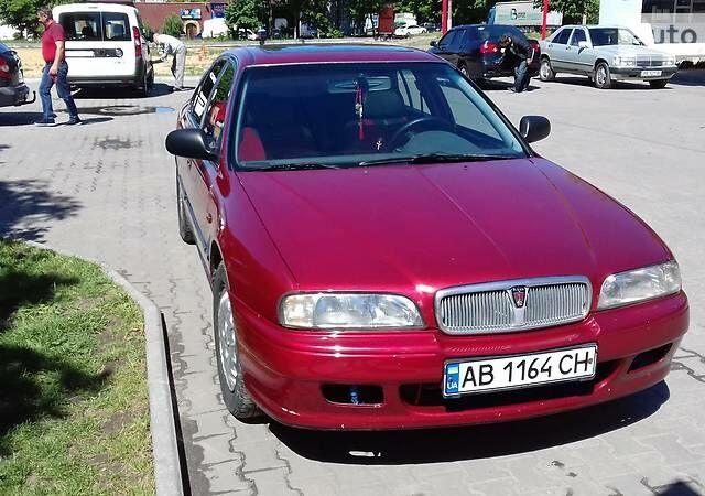Червоний Ровер 620, об'ємом двигуна 2 л та пробігом 213 тис. км за 4200 $, фото 1 на Automoto.ua