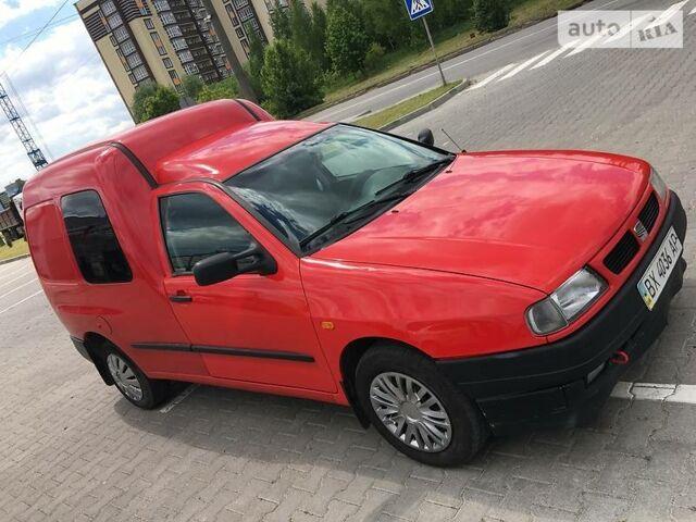 Красный Сеат Инка, объемом двигателя 1.9 л и пробегом 123 тыс. км за 2999 $, фото 1 на Automoto.ua
