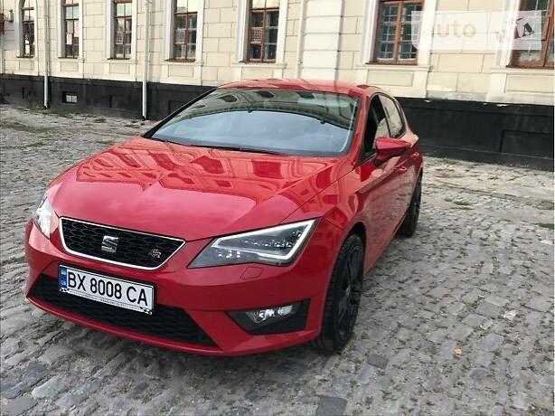 Червоний Сеат Leon, об'ємом двигуна 1.8 л та пробігом 113 тис. км за 15200 $, фото 1 на Automoto.ua