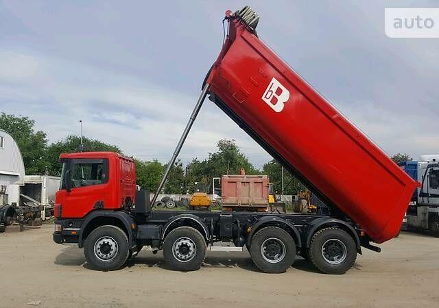 Красный Сканиа 124, объемом двигателя 1.2 л и пробегом 300 тыс. км за 60000 $, фото 1 на Automoto.ua