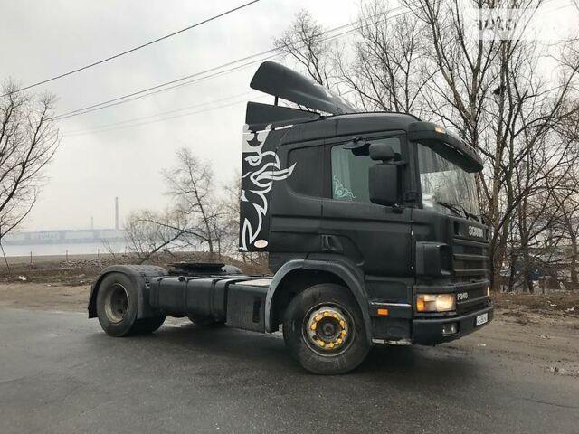 Черный Сканиа П, объемом двигателя 11 л и пробегом 1 тыс. км за 9999 $, фото 1 на Automoto.ua