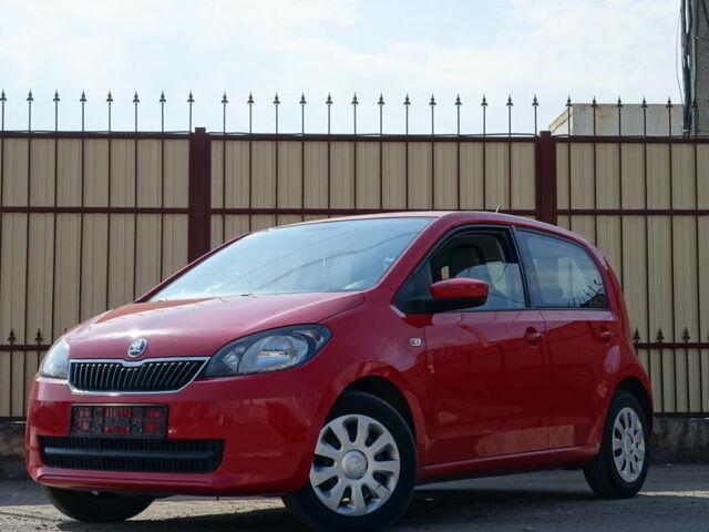 Красный Шкода Ситиго, объемом двигателя 1.1 л и пробегом 50 тыс. км за 6400 $, фото 1 на Automoto.ua