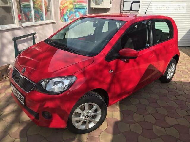 Красный Шкода Ситиго, объемом двигателя 1 л и пробегом 45 тыс. км за 7100 $, фото 1 на Automoto.ua
