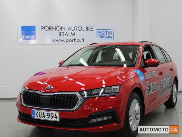 купить новое авто Шкода Октавия Комби 2021 года от официального дилера Прага Авто Шкода фото