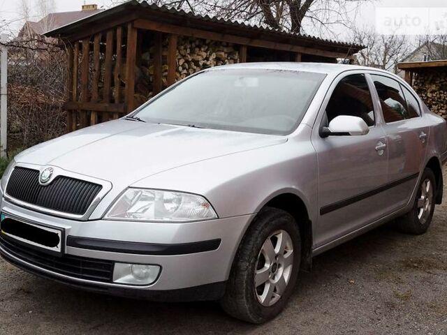 Серый Шкода Октавия, объемом двигателя 2 л и пробегом 172 тыс. км за 8900 $, фото 1 на Automoto.ua