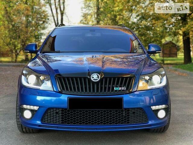 Синій Шкода Октавія, об'ємом двигуна 2 л та пробігом 244 тис. км за 13999 $, фото 1 на Automoto.ua